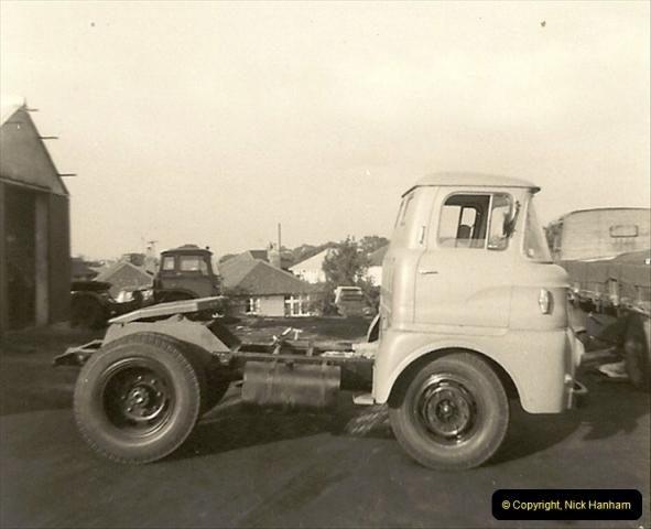 1963 (41) George Curtis Transport yard, Ringwood Road, Parkstone, Poole, Dorset. 090