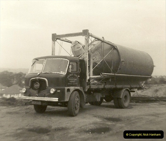 1963 (51) George Curtis Transport yard, Ringwood Road, Parkstone, Poole, Dorset. 100