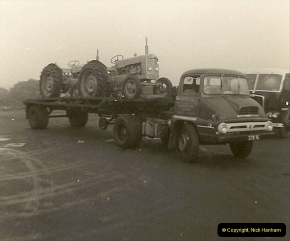 1963 (52) George Curtis Transport yard, Ringwood Road, Parkstone, Poole, Dorset. 101