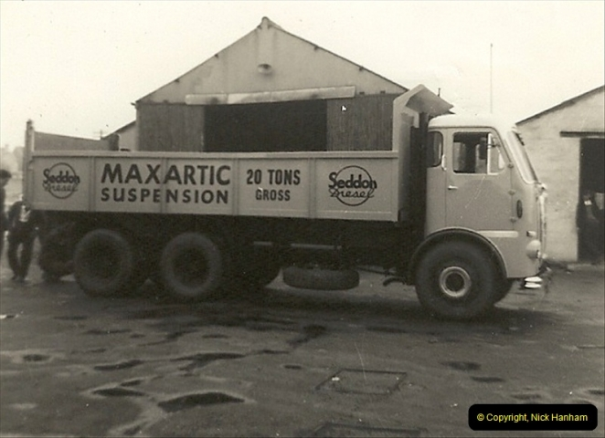1963 (54) George Curtis Transport yard, Ringwood Road, Parkstone, Poole, Dorset. 103