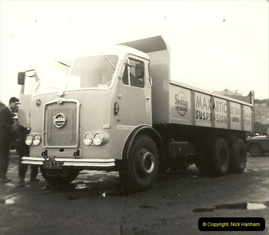 1963 (56) George Curtis Transport yard, Ringwood Road, Parkstone, Poole, Dorset. 105