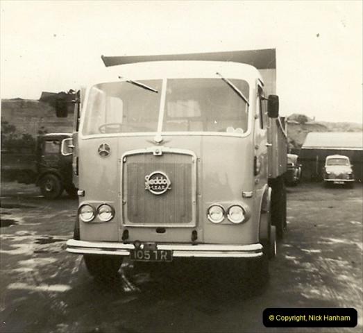 1963 (57) George Curtis Transport yard, Ringwood Road, Parkstone, Poole, Dorset. 106