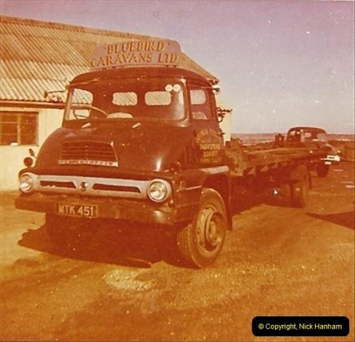 1963 (84) George Curtis Transport yard, Parkstone, Poole, Dorset. 133