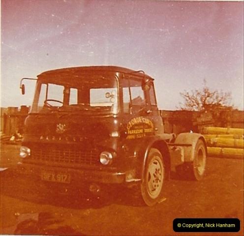 1963 (85) George Curtis Transport yard, Parkstone, Poole, Dorset. 134