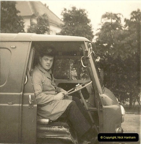 1964-02-20. Your Host driving for Royal Mail @ Parkstone, Poole, Dorset. (1)139