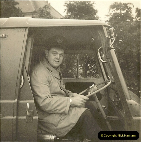 1964-02-20. Your Host driving for Royal Mail @ Parkstone, Poole, Dorset. (6)144