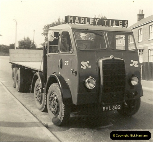 1964 (14) Foden DG in Dale Road, Parkstone,Poole, Dorset.161