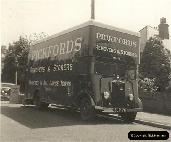 1964 (9) Springfield Road, Parkstone, Poole, Dorset. Guy Warrior.156