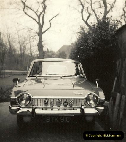 1965 (1) Your host's third car a Ford Corsair BTK 91C. A fantastic car.181
