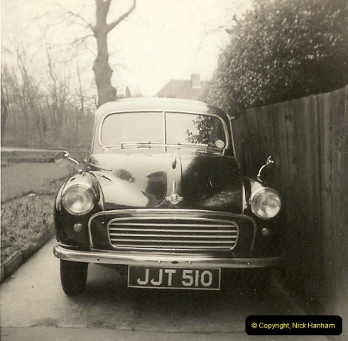 1965 (3) My late Stepfather's Morris Minor with split screen183