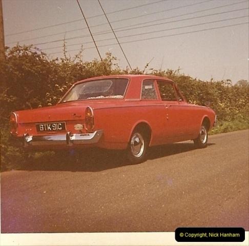 1965. Your Host's third car. Poole, Dorset (1)196