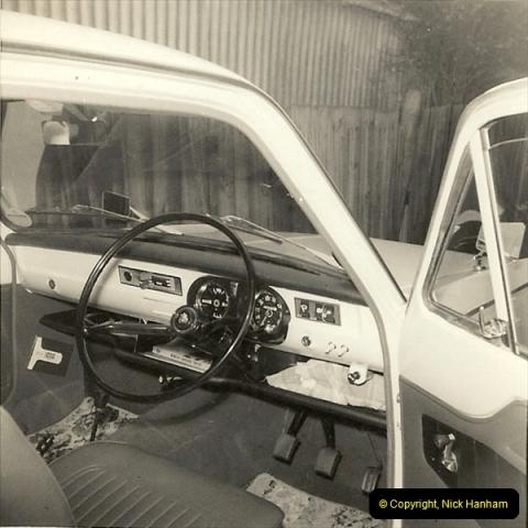 1966 (3) Your Host's late Mother's first car Vauxhall Viva Mark 1. FLJ 727D200
