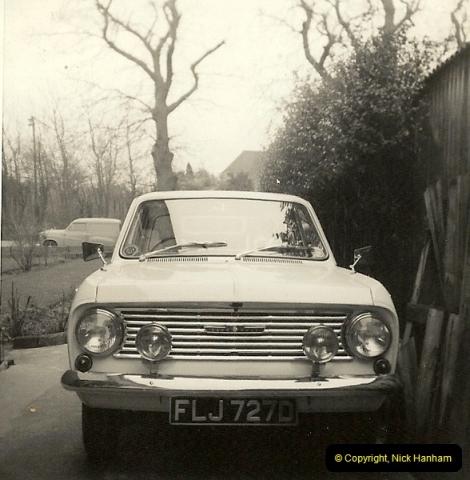 1966 (4) Your Host's late Mother's first car Vauxhall Viva Mark 1. FLJ 727D201