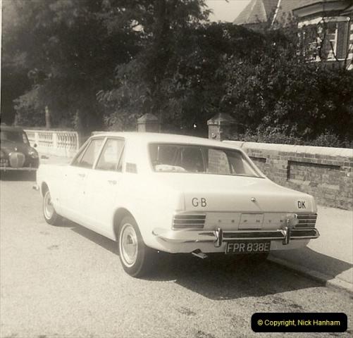 1967 (1) Your Host's Fourth car a Ford Zephyr Mark 3. FPR 838E202