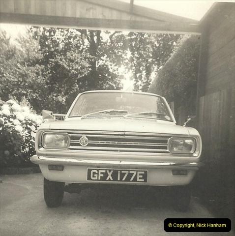 1967 (11) Your Host's late Mother's second car a Vauxhall Viva mark 2. GFX 177E212