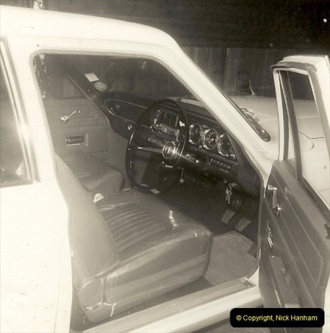 1967 (3) Your Host's Fourth car a Ford Zephyr Mark 3. FPR 838E204