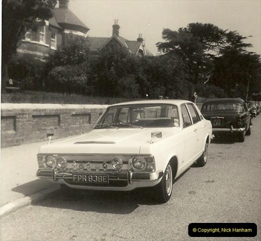 1967 (4) Your Host's Fourth car a Ford Zephyr Mark 3. FPR 838E205