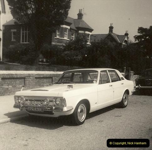 1967 (7) Your Host's Fourth car a Ford Zephyr Mark 3. FPR 838E208