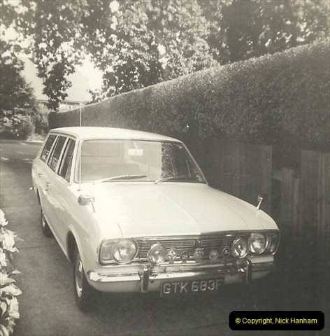 1968 (1) Your Host's Ford Cortina Mark 2 Estate car. GTK 683F214
