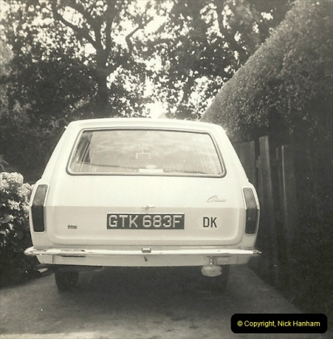 1968 (3) Your Host's Ford Cortina Mark 2 Estate car. GTK 683F216