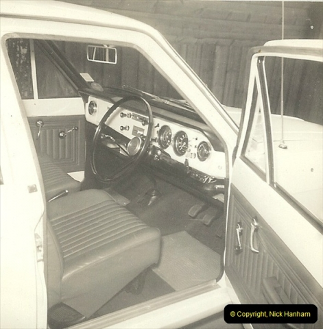 1968 (4) Your Host's Ford Cortina Mark 2 Estate car. GTK 683F217