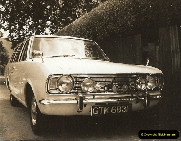 1968 (5) Your Host's Ford Cortina Mark 2 Estate car. GTK 683F218