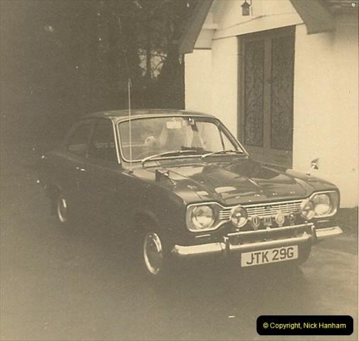 1970 (1) Your Host's Ford Escort. JTK 29G233
