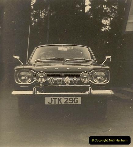 1970 (2) Your Host's Ford Escort. JTK 29G234