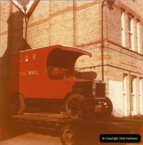 1976 (2) Replica 1910 Mail Van @ Bournemouth Sorting Office. 239