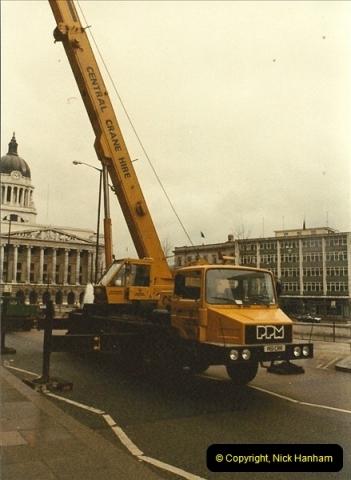 1984 (1) April in Nottingham, Nottinghamshire.303