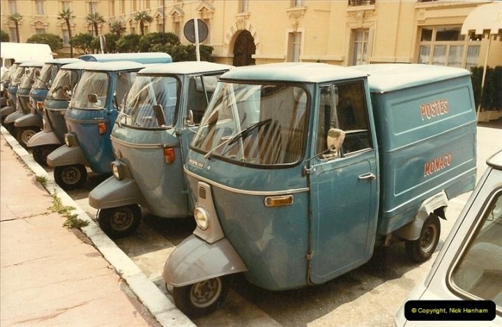1984 (8) Monaco, France.310