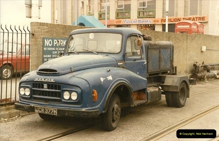 1984 (9) December in Weymouth, Dorset.311