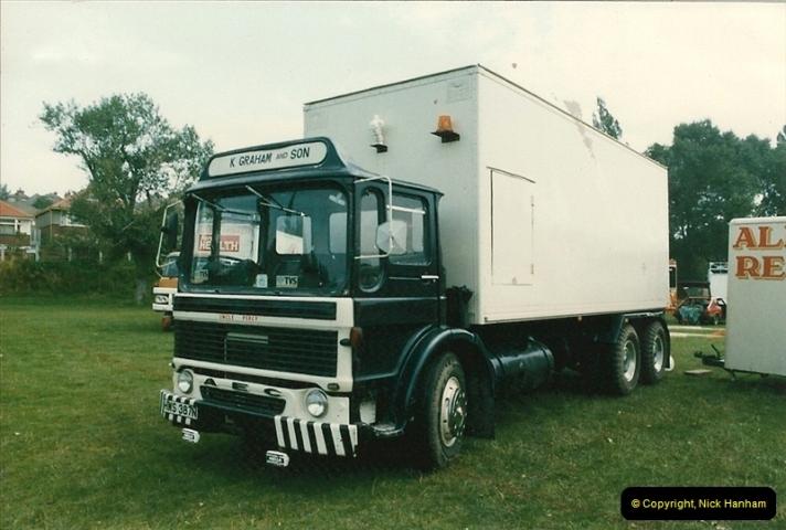 1985 September 12. Alder Road, Parkstone, Poole, Dorset.  (8)336