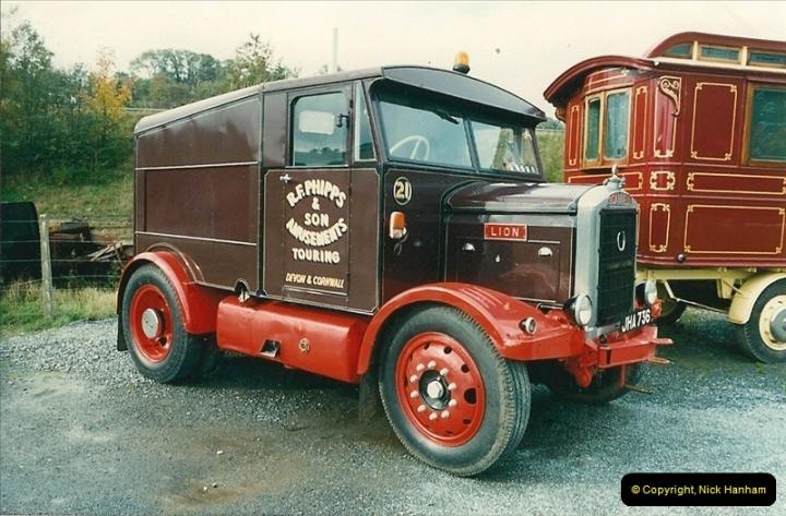 1987-10-13 At the Dart Valley Railway, Devon. (2)387
