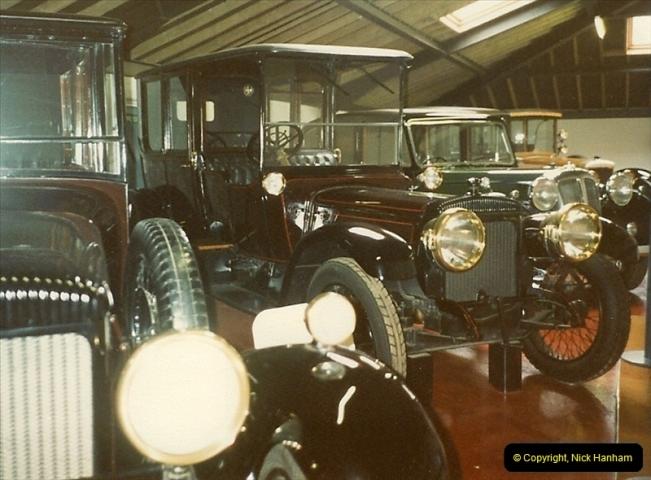1988-07 Sandringham, Royal cars. Norfolk. (1)398