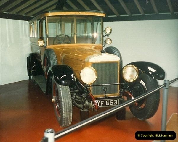 1988-07 Sandringham, Royal cars. Norfolk. (2)399
