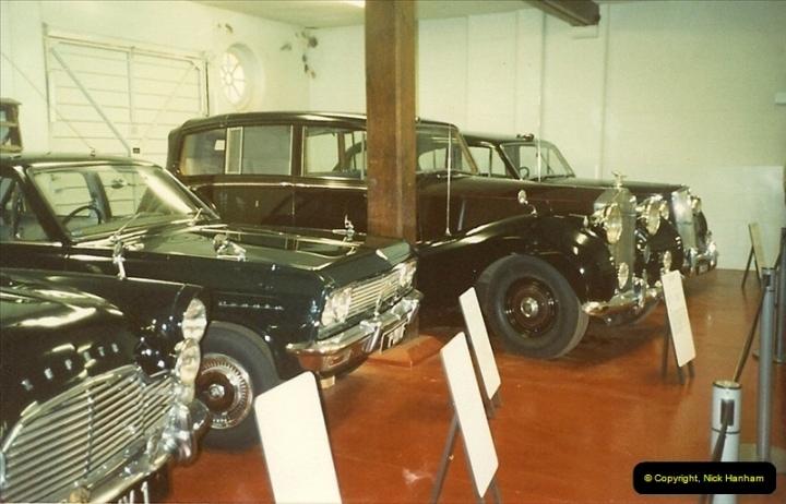 1988-07 Sandringham, Royal cars. Norfolk. (3)400