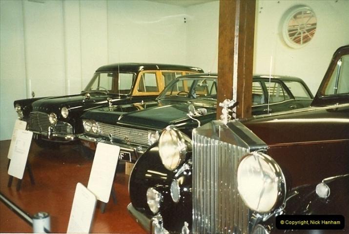 1988-07 Sandringham, Royal cars. Norfolk. (4)401