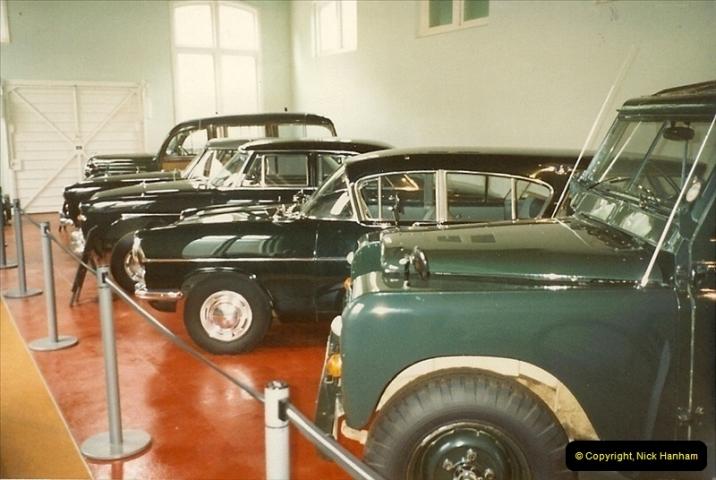 1988-07 Sandringham, Royal cars. Norfolk. (5)402