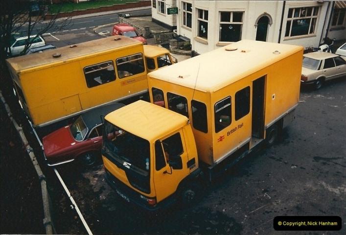 1988-12-22 Parkstone Station, Parkstone, Poole, Dorset.427
