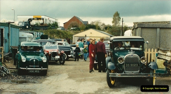 1993-10-09 A vintage vehicle event your Host arranged for the Swanage Railway, Swanage, Dorset.  (5)560