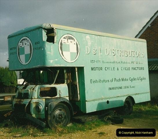 1994-05-25 Parkstone, Poole, Dorset. A restoration project.595