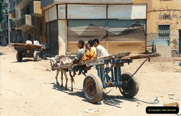 1994-08-08 to 15-08. Luxor, The Nile & Aswan, Egypt.  (1)606