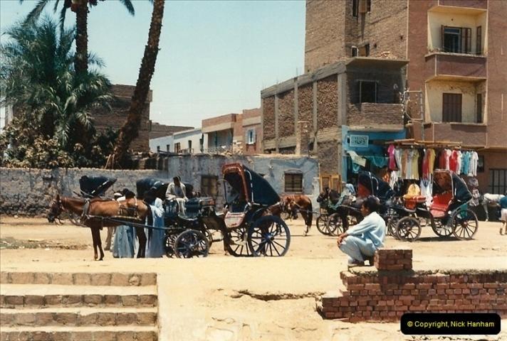 1994-08-08 to 15-08. Luxor, The Nile & Aswan, Egypt.  (2)607