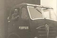 1958 (2) Your Host at the wheel of FRD 31. P25F105. (Not yet a driver)007