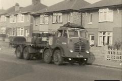 1958 (6) BRF Foden FG in Ringwood Road, Poole, Dorset.011