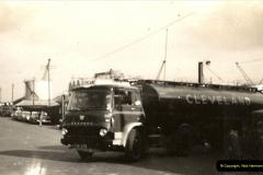 1962 (5) Bedford TK artic tanker of Cleveland Petrol Co. Poole Quay, Poole, Dorset.044