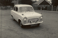 1963 (2) Your Host's first car a Ford Anglia 2852 EV. 051