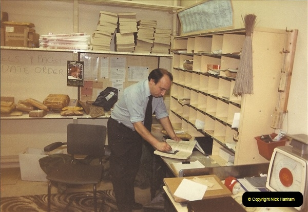 1961 to 2000 Royal Mail mostly Bournemouth & Poole. Your Host & MANY good friends.  (105) 126