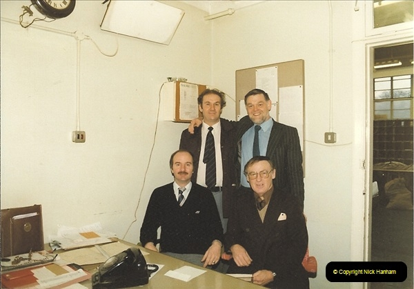 1961 to 2000 Royal Mail mostly Bournemouth & Poole. Your Host & MANY good friends.  (124) 145